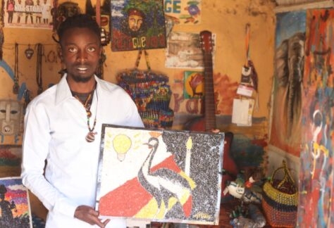 How A Young Refugee is Positively Influencing His Community Through Art